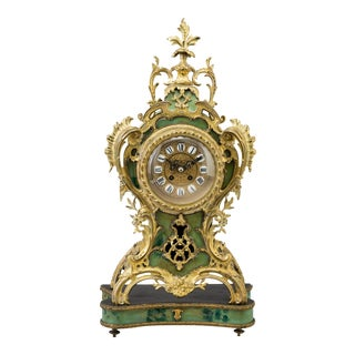 Gustav Becker Mantle Clock For Sale