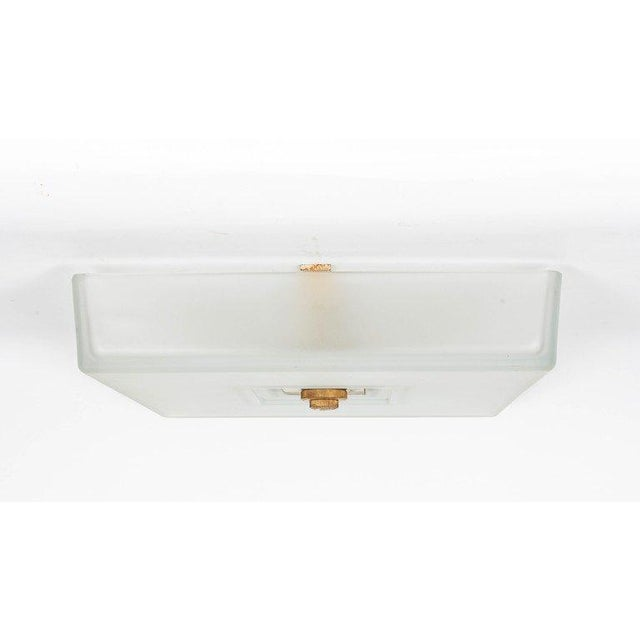 French Modernist Ceiling Fixture by Martin Et Guenier For Sale - Image 4 of 5