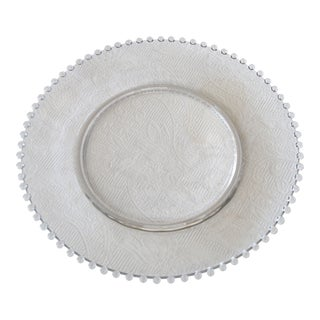 Candlewick Glass Serving Platter For Sale