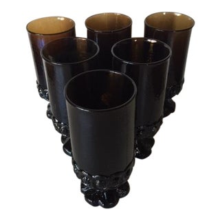 Franciscan Ice Tea Glasses - Set of 6 For Sale