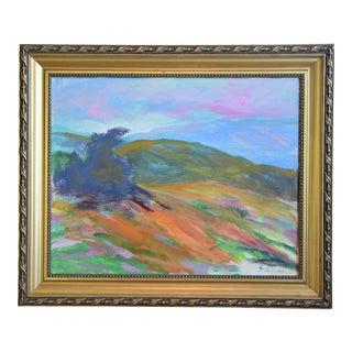 Juan Guzman, Ojai California Original Impressionist Landscape Oil Painting For Sale