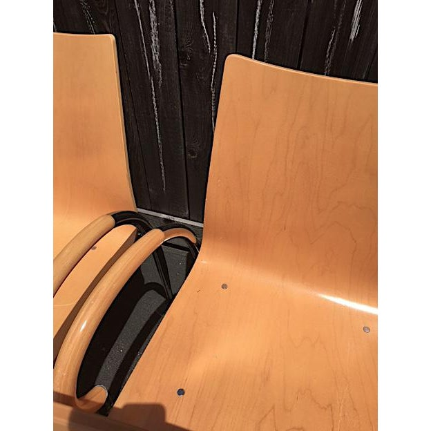 Lowenstein Bentwood & Chrome Dining Chairs - Set of 6 For Sale - Image 5 of 9