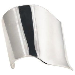 Barry Kieselstein Cord Cuff Bracelet Sterling Silver Sculptural For Sale