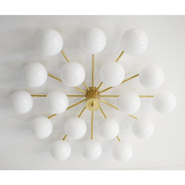 Not Yet Made - Made To Order Globes Flush Mount by Fabio Ltd For Sale - Image 5 of 12
