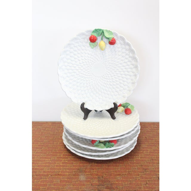 Vintage Fruit Plates - Set of 6 For Sale In New York - Image 6 of 6