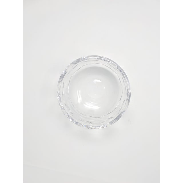 Contemporary Vintage Orrefors Crystal Bowl For Sale - Image 3 of 6
