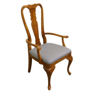 Late 20th Century Vintage American of Martinsville Queen Anne Style Dining Chair For Sale