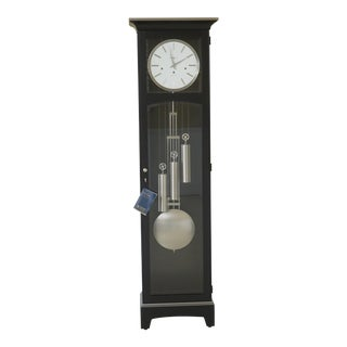 Howard Miller Black Modern Design Grandfather Clock