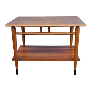 Mid Century Lane Two Tier Side Table For Sale