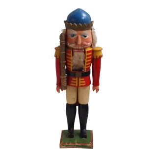 1930s Vintage German Nutcracker King For Sale