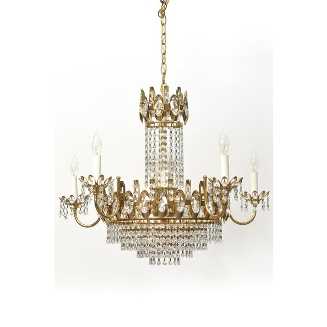 Strass Crystal Chandelier Vintage strass crystal chandelier chairish vintage strass crystal chandelier image 2 of 4 audiocablefo