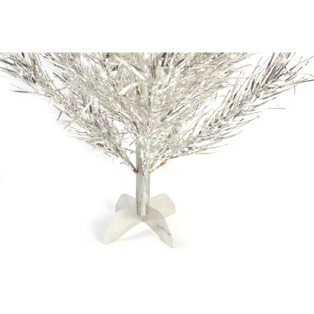 1950s Aluminum Tabletop Christmas Tree - Image 2 of 3