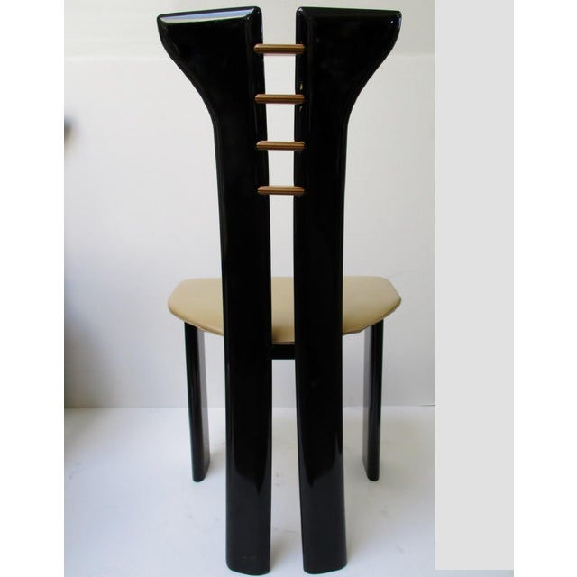 Vintage Italian Dining Chairs - Set of 6 - Image 5 of 11