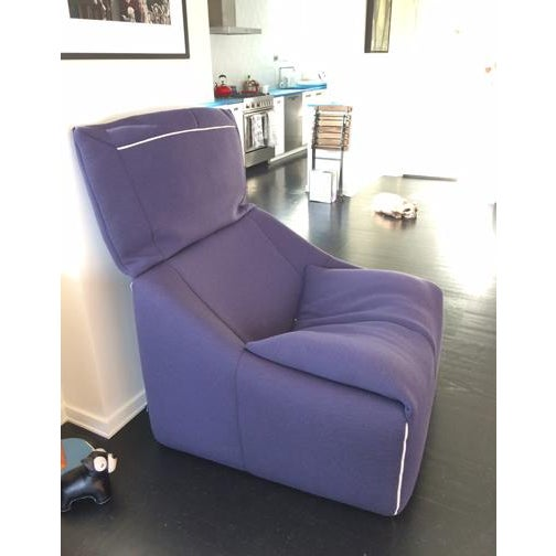 Contemporary Ligne Roset Plumy Armchair For Sale - Image 3 of 7