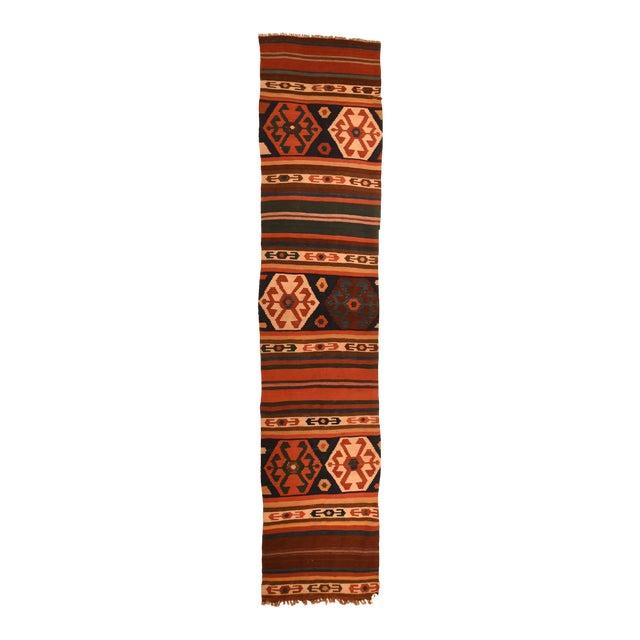 Antique Caucasian Kilim Rug For Sale