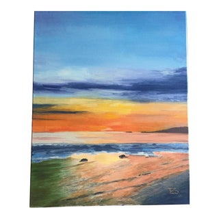 """""""Summer Sunset"""" Original Painting For Sale"""