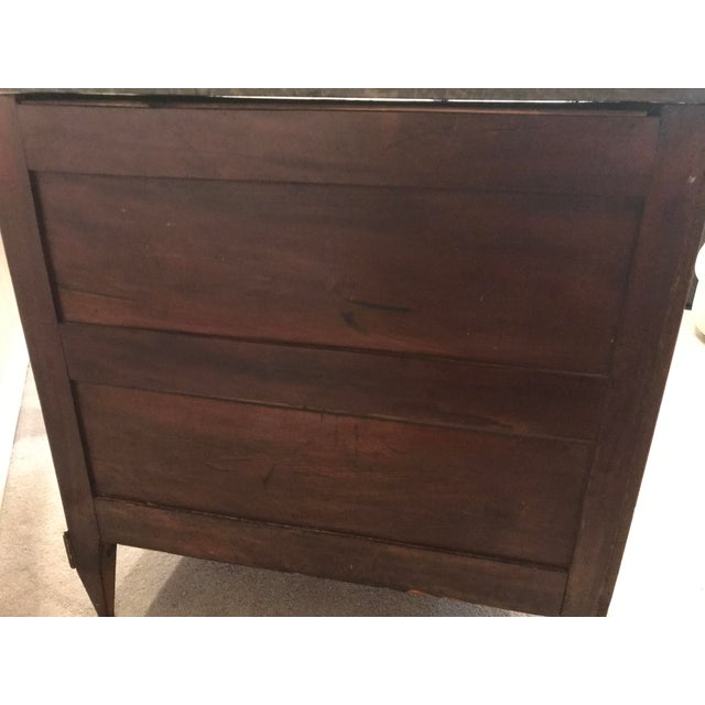 Elm 1780 Louis XVI French Kingwood/Mahogany Commode For Sale - Image 7 of 8
