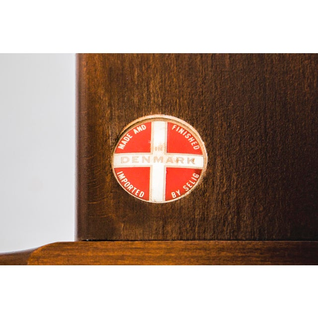 Ib Kofod-Larsen for Selig Teak Wood Sofa For Sale - Image 12 of 13