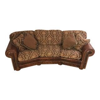 The Arrangement Leather/Cloth Sofa