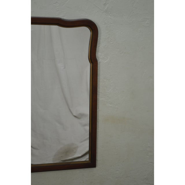 Wood Statton Old Towne Cherry Traditional Wall Mirror For Sale - Image 7 of 10