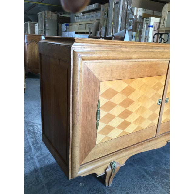 1930s 1930s Vintage French Art Deco Credenza For Sale - Image 5 of 9