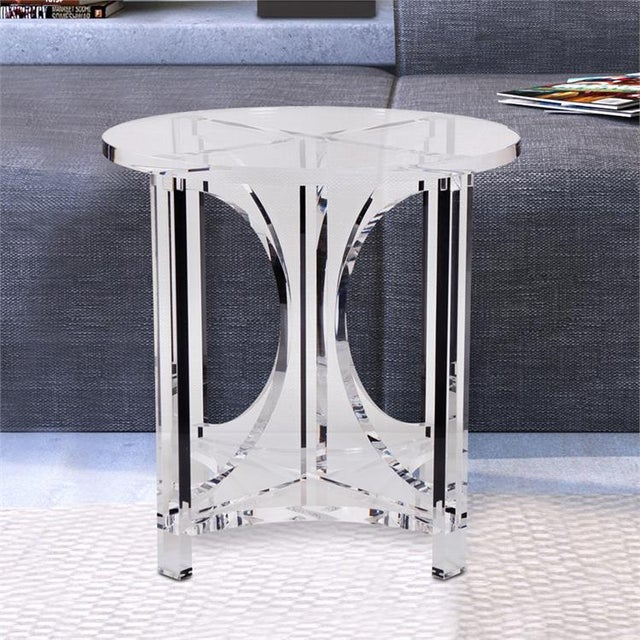 Kenneth Ludwig Chicago Kenneth Ludwig Chicago Kalar Side Table For Sale - Image 4 of 6
