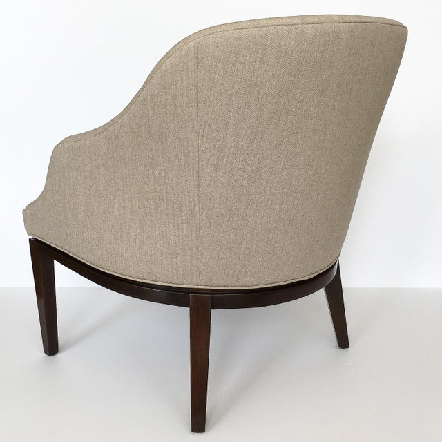 1950s Edward Wormley for Dunbar Lounge Chair For Sale In Chicago - Image 6 of 13