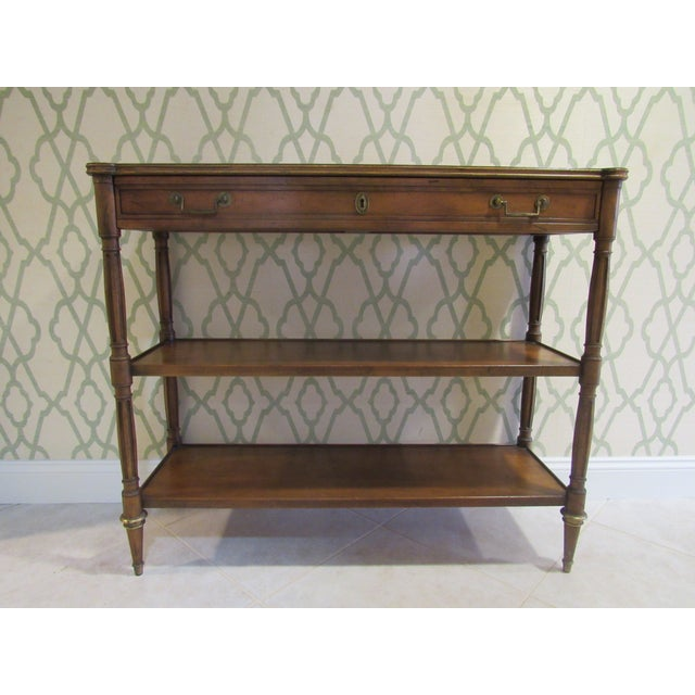 Console Table by Baker Furniture For Sale - Image 11 of 11