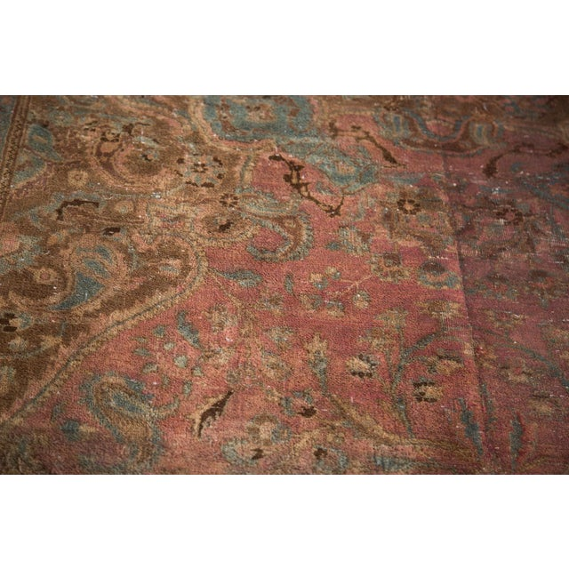 """Vintage Meshed Carpet - 7'3"""" x 12'6"""" - Image 3 of 9"""