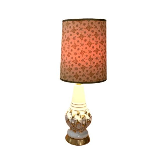 Mid-Century Modern Vintage Hollywood Regency Midcentury Lamp For Sale - Image 3 of 6