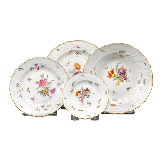 Early 20th Century Meissen Porcelain Dinner Service, 92 Pieces For Sale - Image 5 of 6
