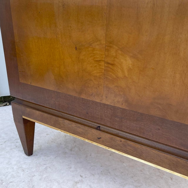 Mid-Century Two Drawer End Table or Nightstand For Sale In New York - Image 6 of 13