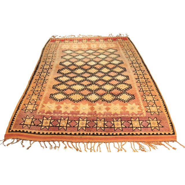 Bellwether Rugs Vintage Moroccan Area Rug - 4′4″ × 10′7″ - Image 1 of 8