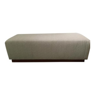 Ralph Lauren Home Modern Hollywood Bed Bench (Unused) For Sale