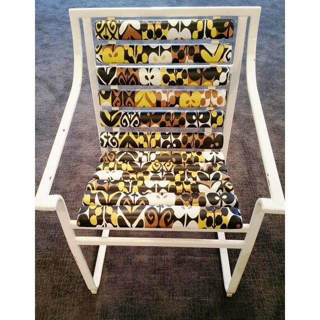 Samsonite Tubular Steel Patio Chairs - a Pair - Image 4 of 9