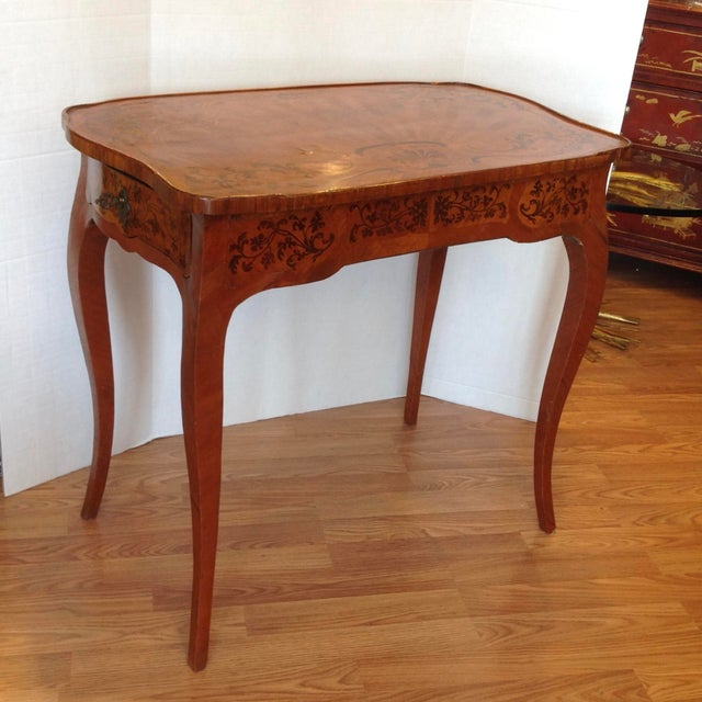ior 19th Century French Inlaid Vanity For Sale - Image 4 of 13