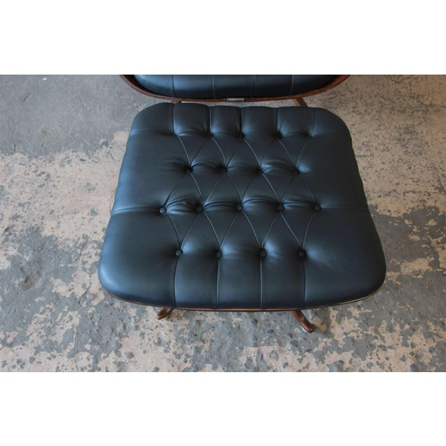 """George Mulhauser for Plycraft """"Mr. Chair"""" and Ottoman - Image 8 of 10"""