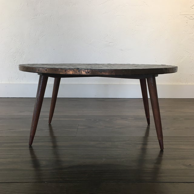 Hollywood Regency Mid Century Modern Mosaic Tiled Coffee Table For Sale - Image 3 of 8