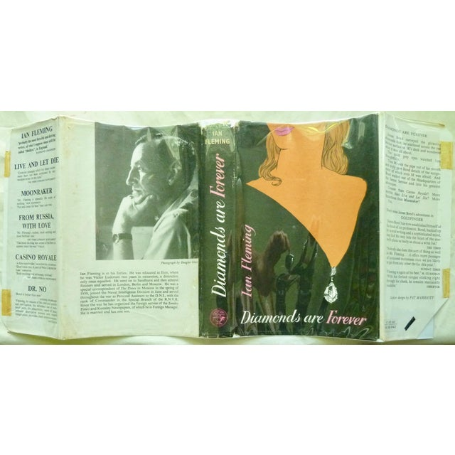 """1950s 1956 """"Diamonds Are Forever"""" UK 1st Printing Book For Sale - Image 5 of 6"""