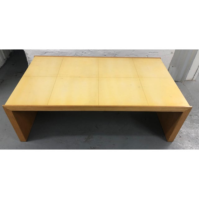"Contemporary Roman Thomas ""Plateau"" Coffee Table For Sale - Image 11 of 11"