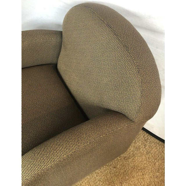 Directional Pace by Directional Leon Rosen Style Mid-Century Modern Swivel Chairs - a Pair For Sale - Image 4 of 9