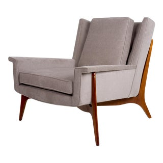 Vladimir Kagan for Dreyfuss Lounge Chair, Circa 1950s For Sale
