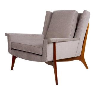 Vladimir Kagan for Dreyfuss Lounge Chair, Circa 1950s For Sale