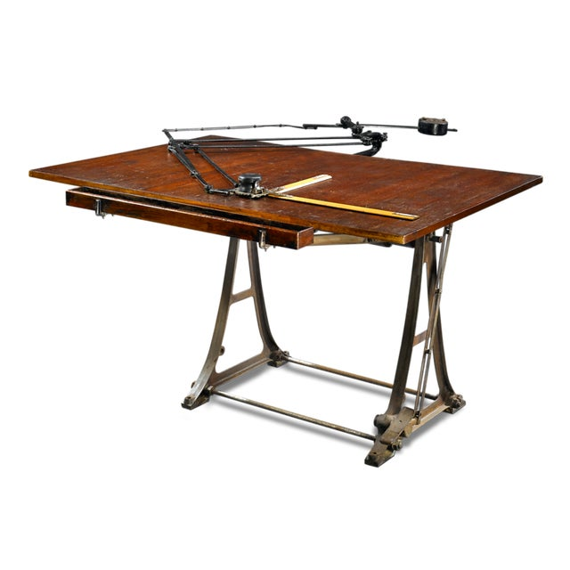 Please update dimeniosn. Dimenisons listed are currently a placeholder. This wonderful architect's drafting table is a...