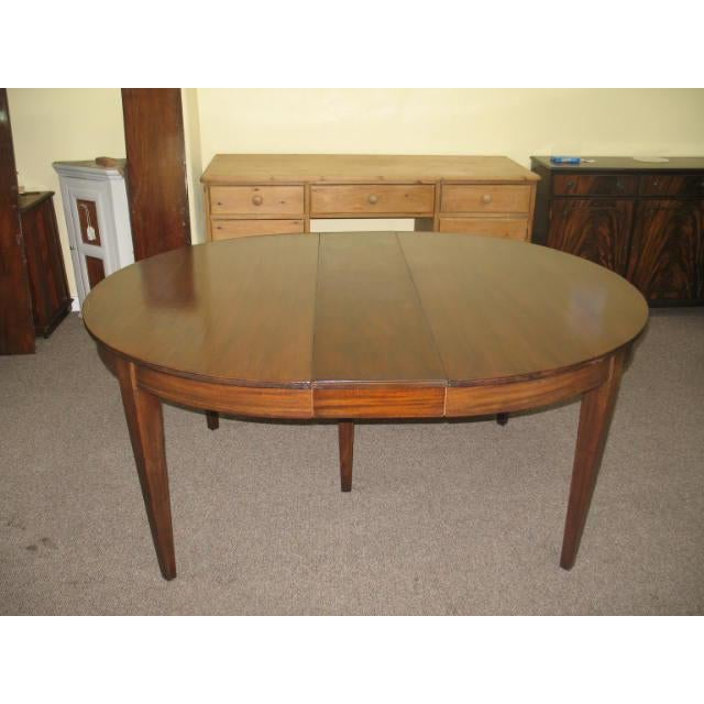 Antique Extending Mahogany Dining Table - Image 3 of 11