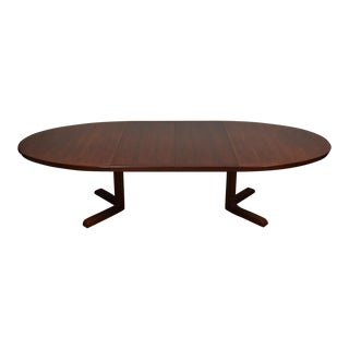 Rosewood Dining Table W/ 2 Leaves by Skovby