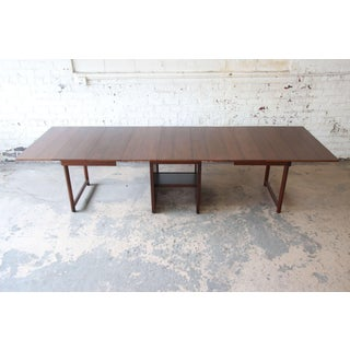 Large Edward Wormley for Dunbar Mahogany Extension Dining Table Preview