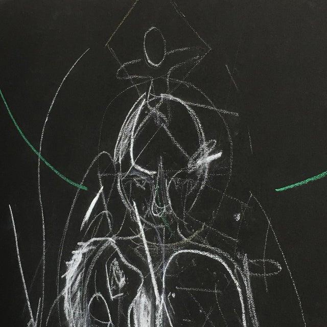 James C. Harrison Bringing Up Demons Framed Drawing For Sale - Image 4 of 7