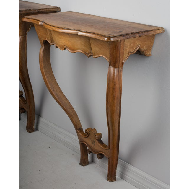 French 18th Century French Console Tables - a Pair For Sale - Image 3 of 10
