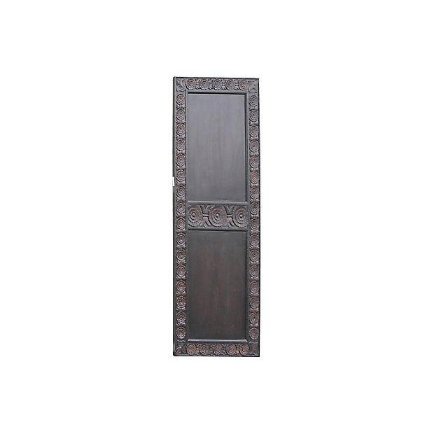 Carved Mahogany Finished Door - Image 3 of 5